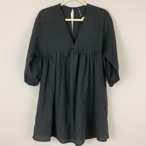 NWT Zara TRF Black Dress